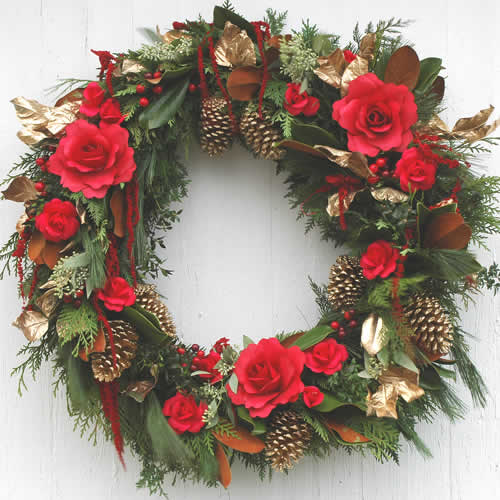 Everlasting Red Wreath